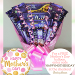 Enter code 'HAPPYMOTHERSDAY' for a free balloon with your Cadbury Dairy Milk Chocolate Bouquet