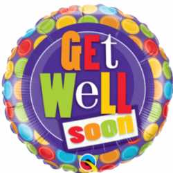 "Get Well Soon 9"" Foil Balloon"