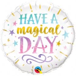 "Have A Magical Day 9"" Foil Balloon"