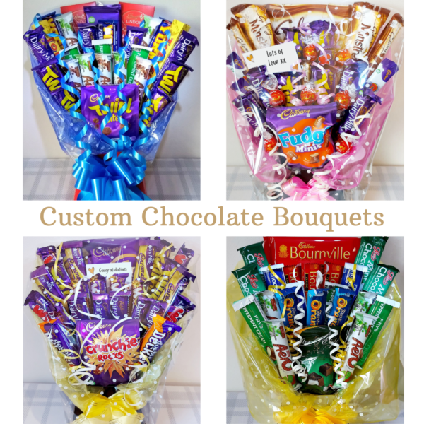 Custom Chocolate Bouquet - Choose Your Own Chocolate Bars!