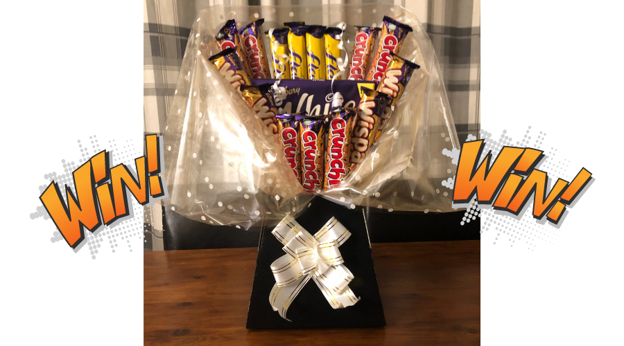 Enter our competition to win a Cadbury Chocolate Bouquet