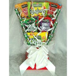 Rowntrees Pick & Mix Sweet Bouquet finished in Red & White